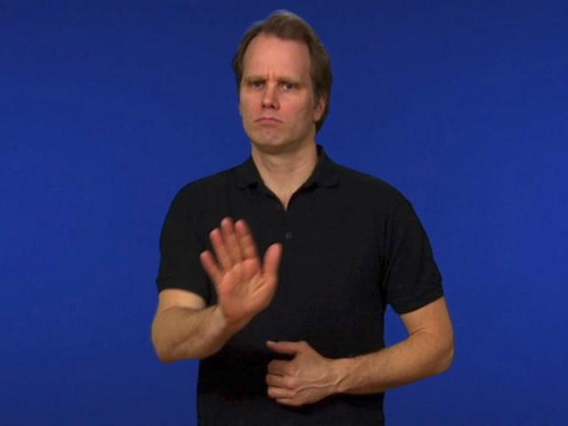 Mamma teckenspråk